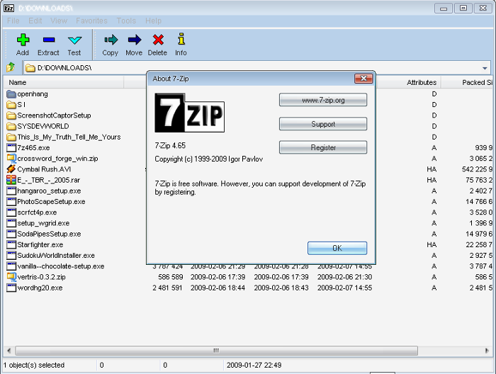 7-Zip 2018 Download + Portable Free Download