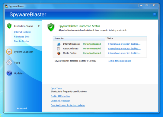 SpywareBlaster 2018 For MAC + Windows Crack Free Download