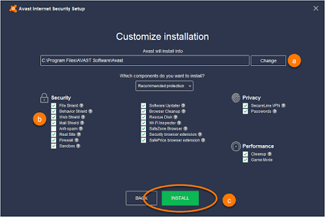 Avast Internet Security 2018 Crack Patch + Serial Key Free Download