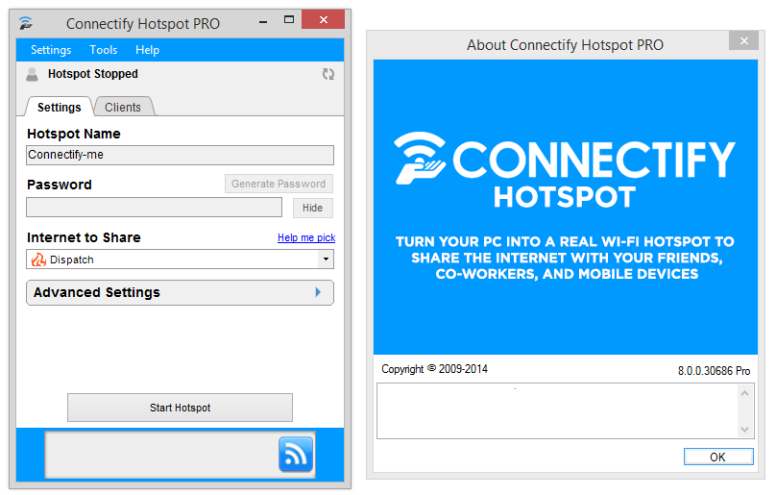 Connectify Hotspot 2018.2.2.38986 Activation Code + License Key Download