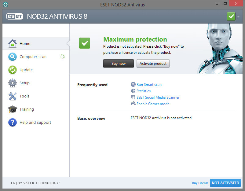 ESET NOD32 Antivirus Crack 2018 Crack Keygen For 32 & 64 Bi