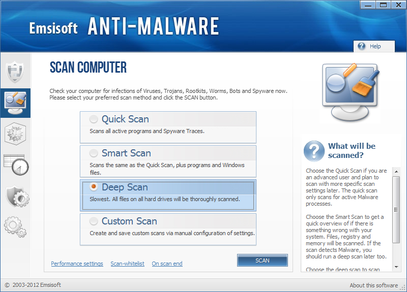 Emsisoft Anti-Malware 2018 For Windows, 7, 8, 10 + MAC