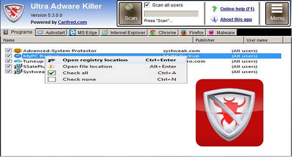 Ultra Adware Killer 2018 For Windows, 7, 8, 10 + MAC