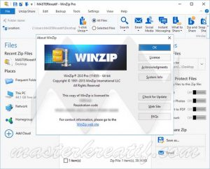 WinZip 2018 Activation Code + License Key Download