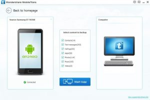 Wondershare MobileTrans 2018 Crack Patch + Serial Key Free Download