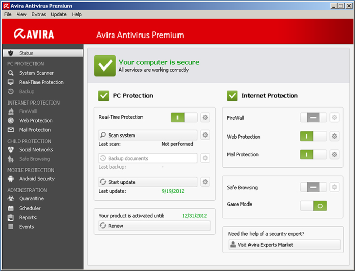 Avira Antivirus 2018 Crack Patch + Serial Key Free Download