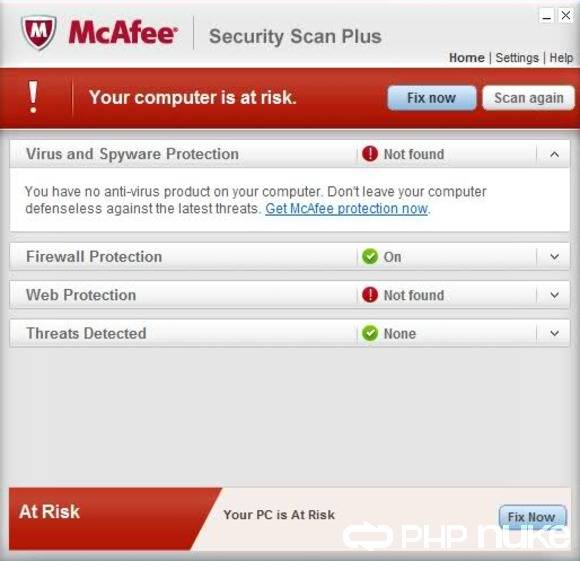McAfee Security Scan 2018 For Windows, 7, 8, 10 + MAC