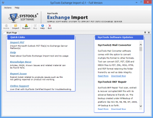 SysTools Exchange Recovery 2018 For Windows, 7, 8, 10 + MAC Full Version