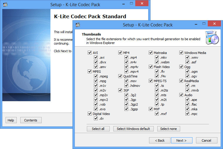 K-Lite Codec Pack 2018 Free Download for Windows + MAC + Android