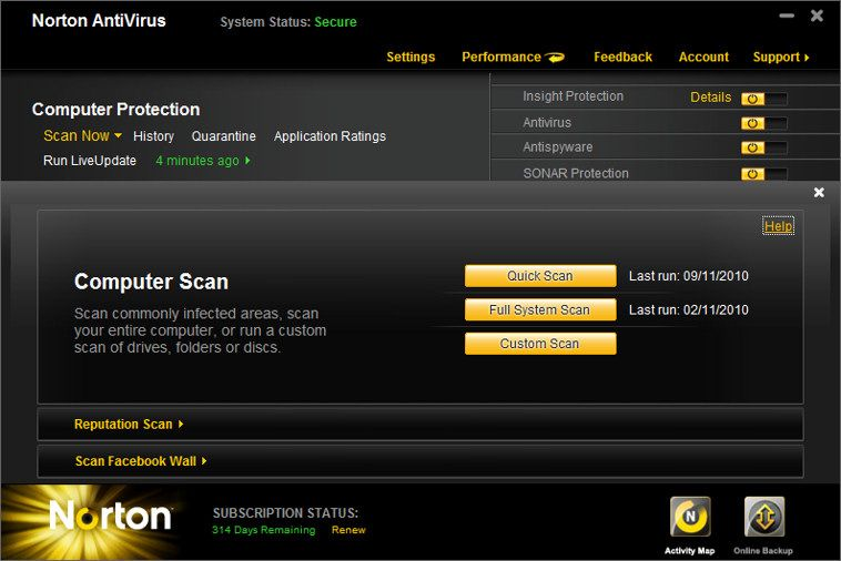 Norton Antivirus 2018 For Windows, 7, 8, 10 + MAC