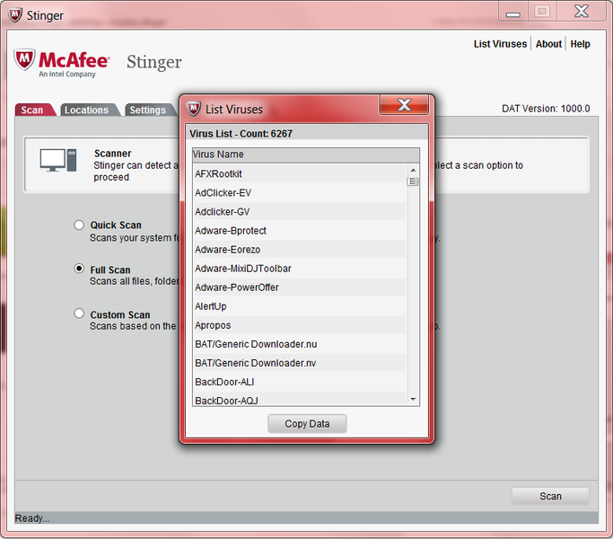 McAfee Labs Stinger 2018 Activation Code + License Key Download