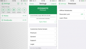 Evernote Premium 8.0 b2 Cracked APK +  Full Version