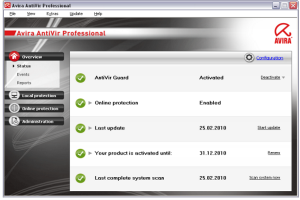 Avira Antivirus Pro 2018 Crack + Keygen Free Download
