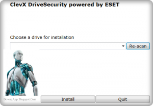 ClevX DriveSecurity 2018 For Windows, 7, 8, 10 + MAC