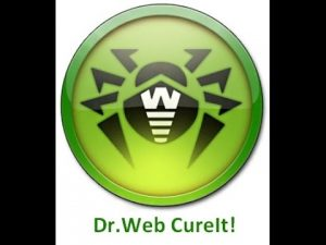 Dr.Web CureIt 2018 Download + Portable Free Download