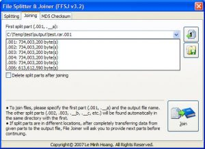 Fastest File Splitter And Joiner 2018 Free Download
