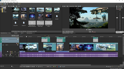 Sony Vegas Pro 17.0 Build 387 Crack + Product Key Free Download